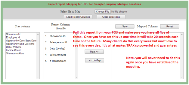 RQ4 import mapping