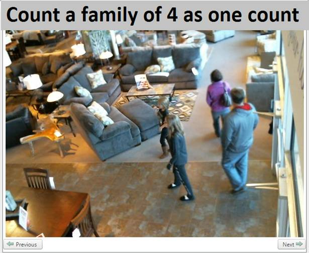 count a family of 4 as one count