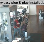very easy plug & play installation
